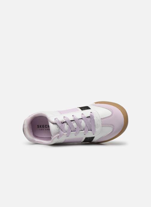 Baskets Skechers Street Cleats 2 Bring It Back Blanc vue gauche