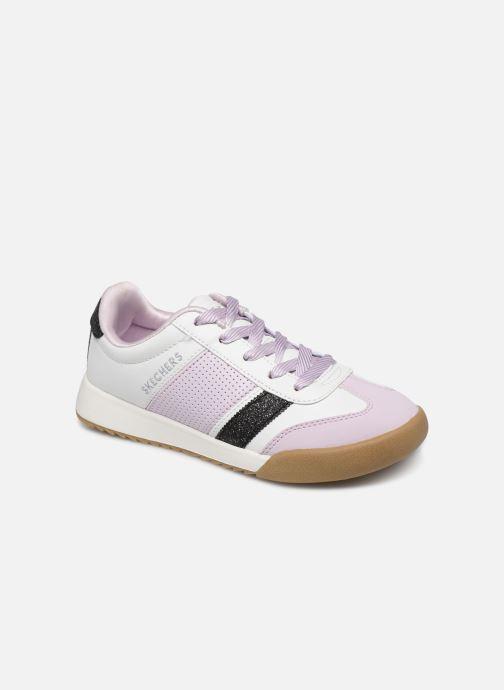 Baskets Skechers Street Cleats 2 Bring It Back Blanc vue détail/paire