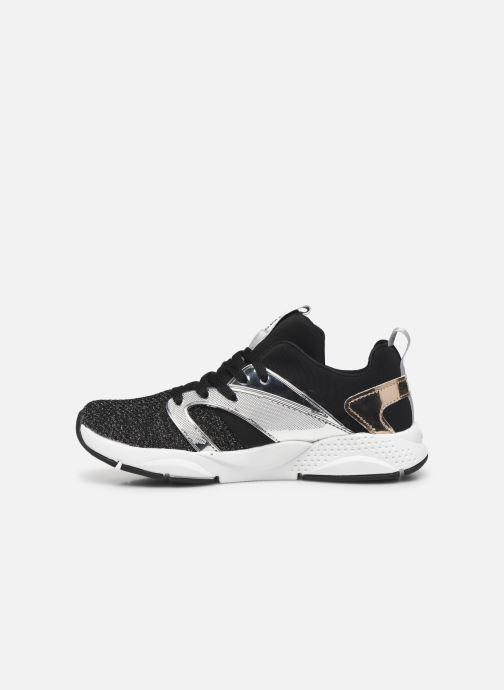 Sneakers Skechers Shine Status Sort se forfra