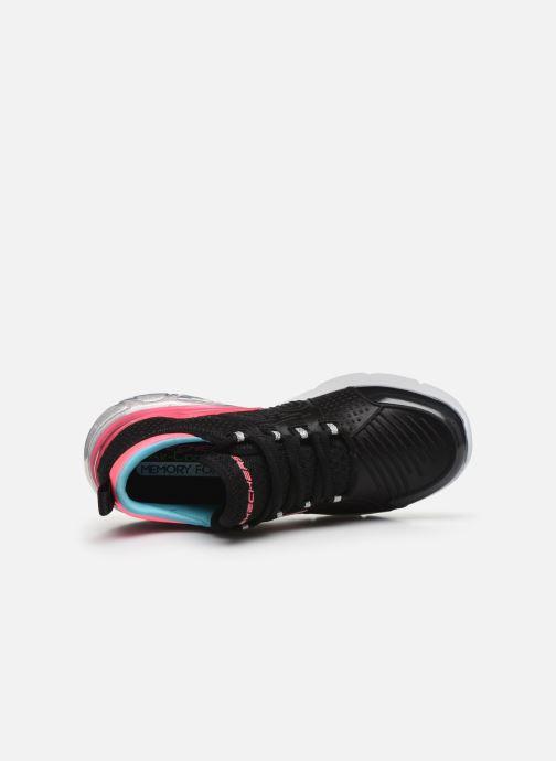 Baskets Skechers Skech-Air Sparkle Noir vue gauche