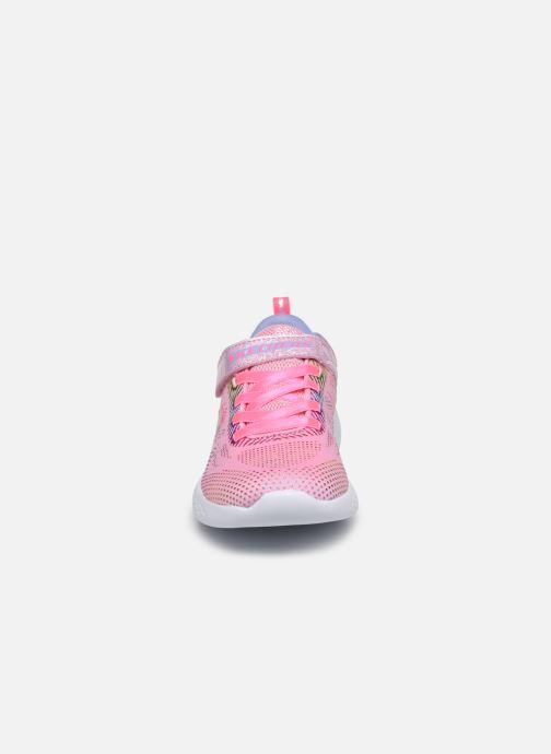 Sneaker Skechers Go Run 600 Lpmt rosa schuhe getragen