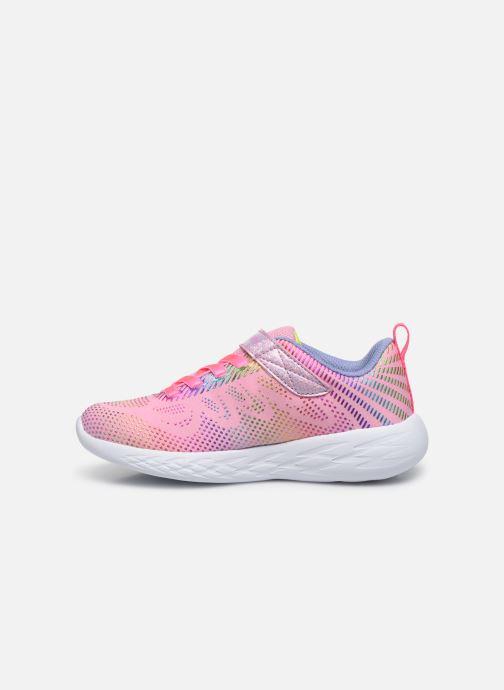 Sneaker Skechers Go Run 600 Lpmt rosa ansicht von vorne