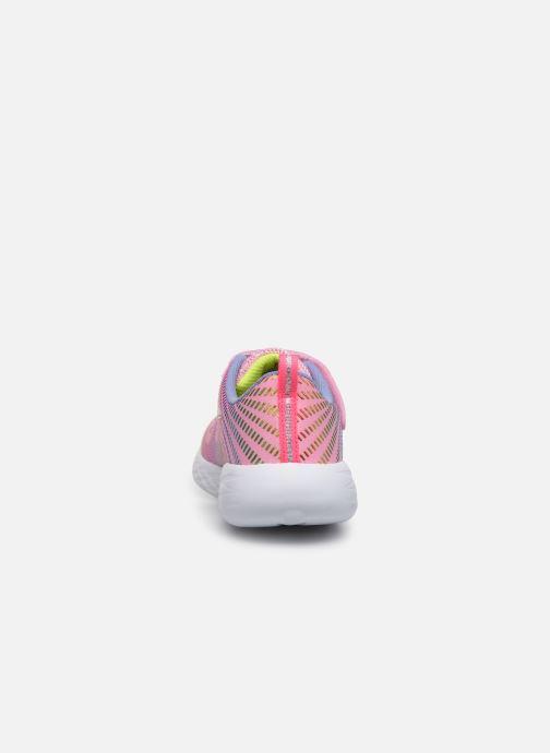 Sneaker Skechers Go Run 600 Lpmt rosa ansicht von rechts