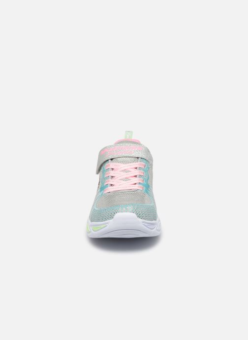 Sneakers Skechers Shimmer Beams Multicolore modello indossato