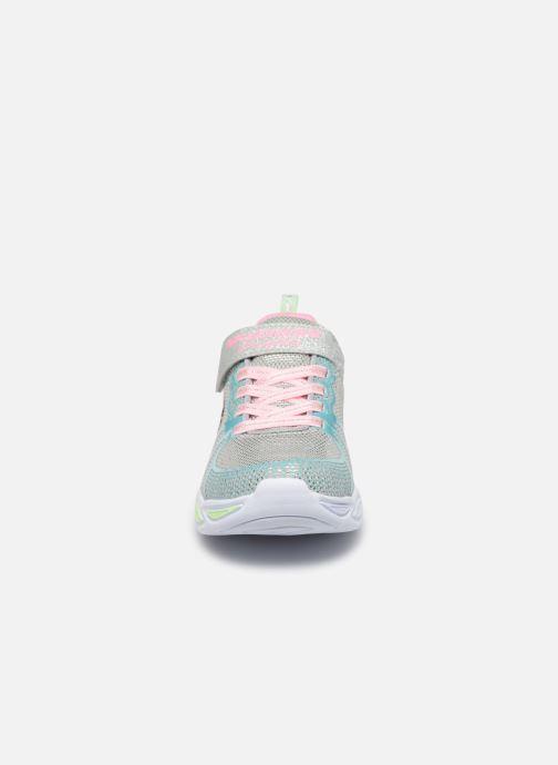 Sneaker Skechers Shimmer Beams mehrfarbig schuhe getragen