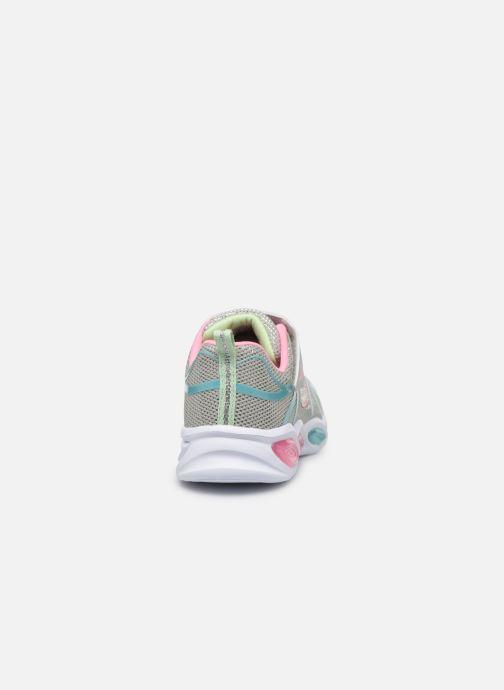 Sneaker Skechers Shimmer Beams mehrfarbig ansicht von rechts