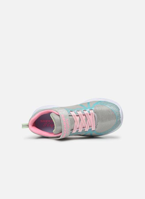 Sneaker Skechers Shimmer Beams mehrfarbig ansicht von links