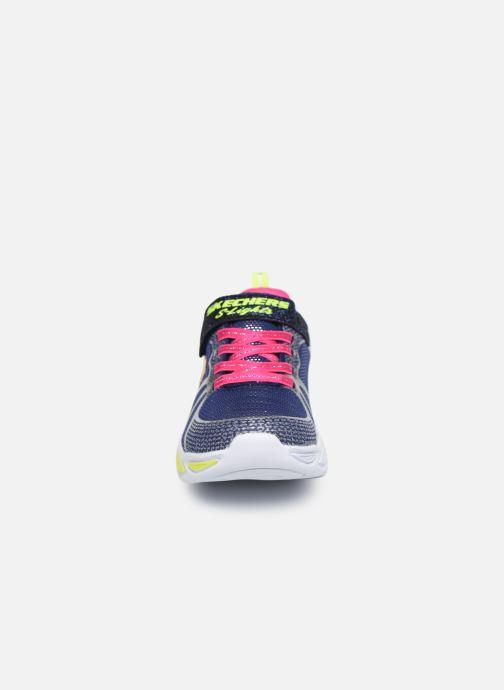 Baskets Skechers Shimmer Beams Multicolore vue portées chaussures