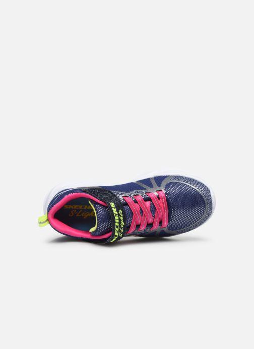 Deportivas Skechers Shimmer Beams Multicolor vista lateral izquierda