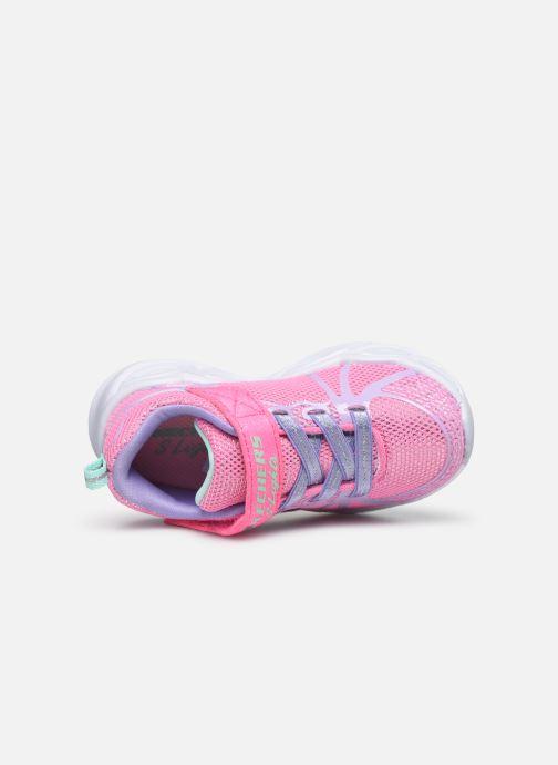 Baskets Skechers Shimmer Beams Multicolore vue gauche
