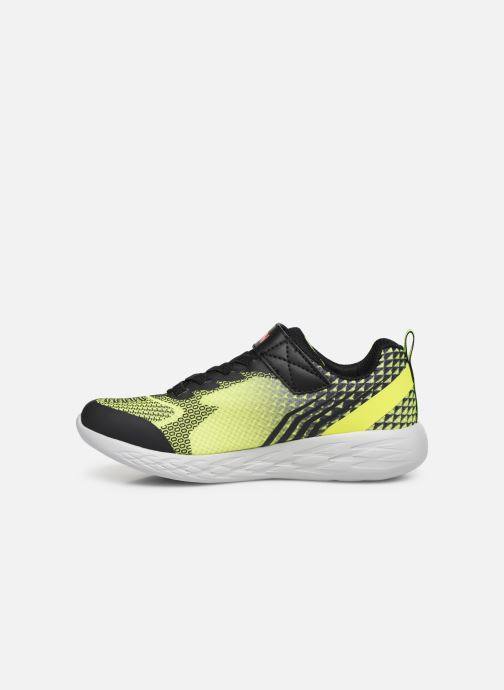 Sneakers Skechers Go Run 600 Baxtux Giallo immagine frontale