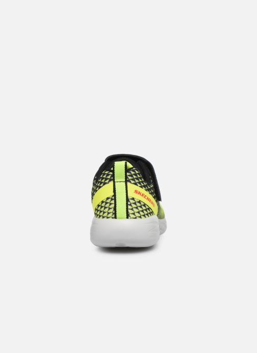 Baskets Skechers Go Run 600 Baxtux Jaune vue droite