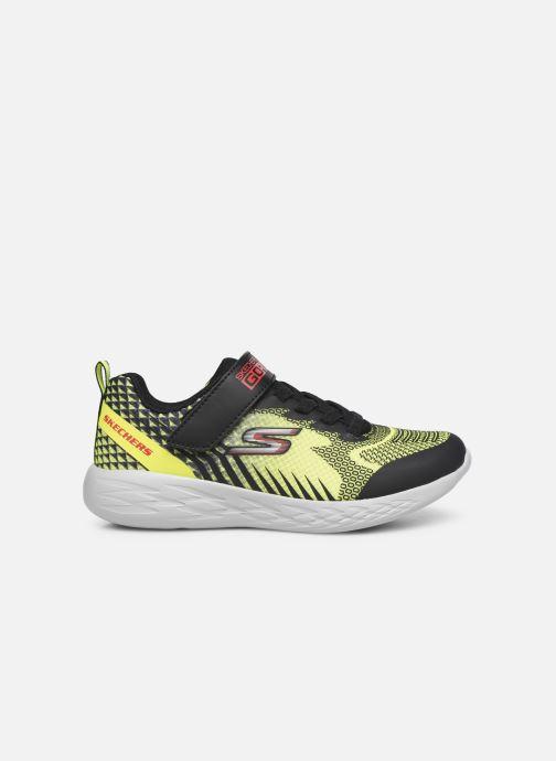 Sneakers Skechers Go Run 600 Baxtux Giallo immagine posteriore