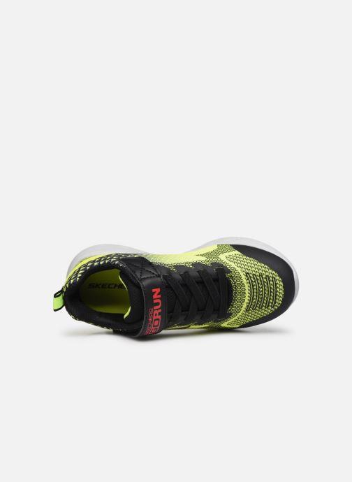 Sneakers Skechers Go Run 600 Baxtux Giallo immagine sinistra