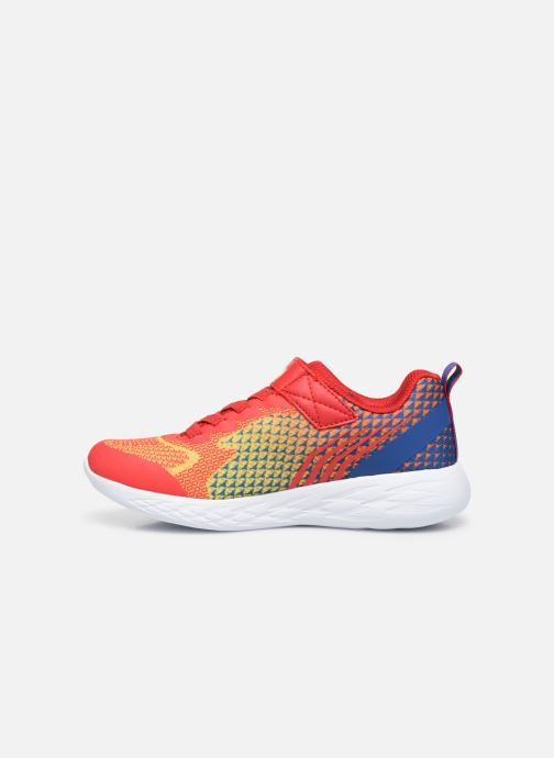 Baskets Skechers Go Run 600 Baxtux Orange vue face