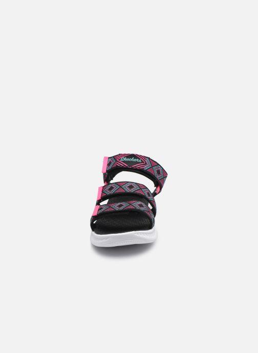Sandali e scarpe aperte Skechers C-Flex Sandal 2.0 Nero modello indossato