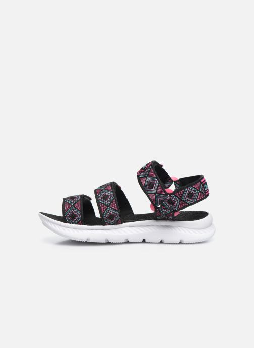 Sandalias Skechers C-Flex Sandal 2.0 Negro vista de frente
