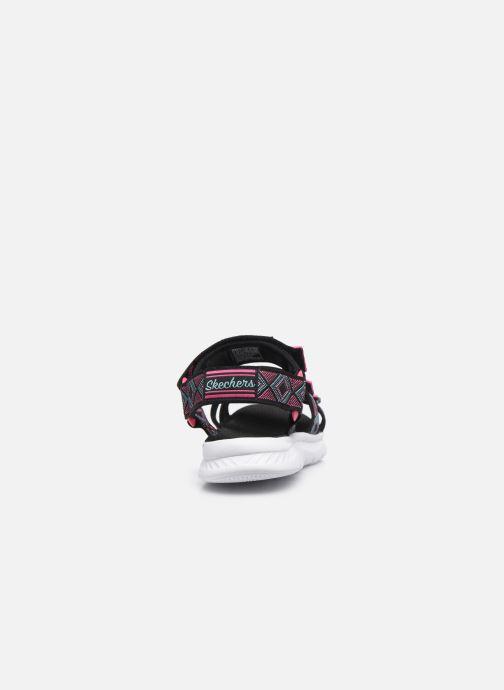 Sandalias Skechers C-Flex Sandal 2.0 Negro vista lateral derecha