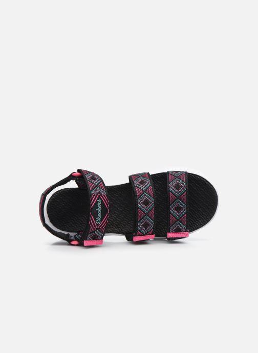 Sandalias Skechers C-Flex Sandal 2.0 Negro vista lateral izquierda