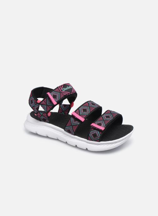 Sandalias Skechers C-Flex Sandal 2.0 Negro vista de detalle / par