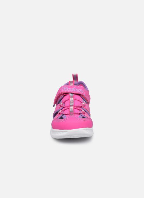 Sandalen Skechers C-Flex Sandal 2.0 rosa schuhe getragen