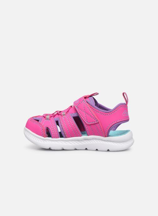 Sandalen Skechers C-Flex Sandal 2.0 rosa ansicht von vorne