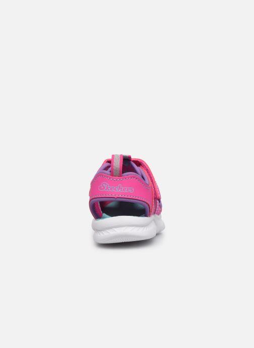 Sandalen Skechers C-Flex Sandal 2.0 rosa ansicht von rechts
