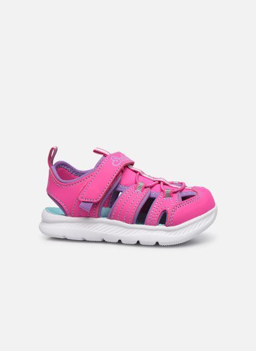 Sandalen Skechers C-Flex Sandal 2.0 rosa ansicht von hinten