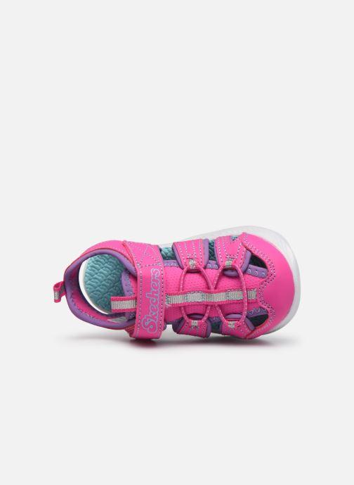 Sandalen Skechers C-Flex Sandal 2.0 rosa ansicht von links