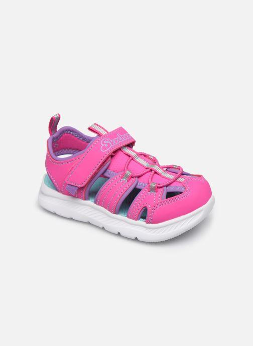 Sandales et nu-pieds Skechers C-Flex Sandal 2.0 Rose vue détail/paire