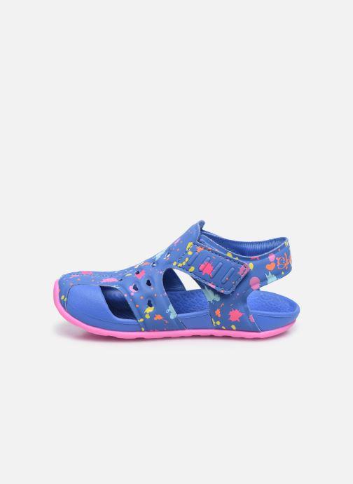 Sandales et nu-pieds Skechers Side Wave Multicolore vue face