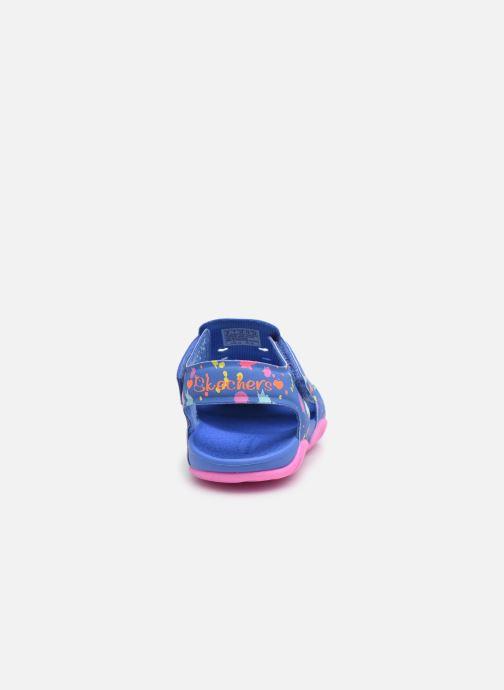 Sandales et nu-pieds Skechers Side Wave Multicolore vue droite