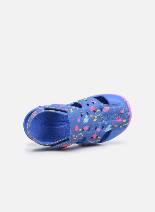 Sandales et nu-pieds Skechers Side Wave Multicolore vue gauche