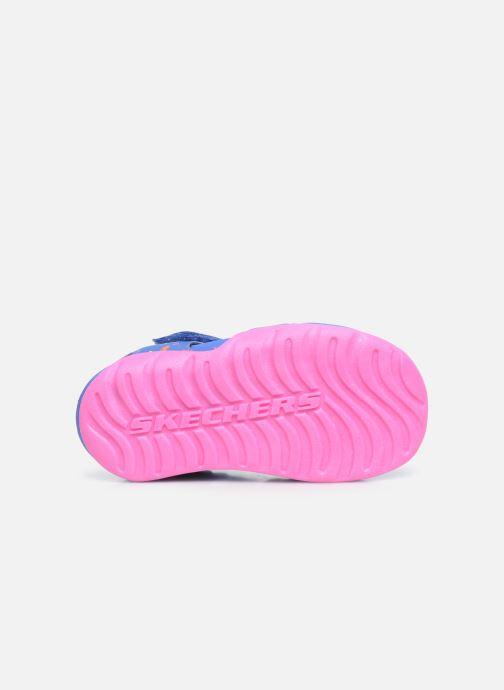 Sandales et nu-pieds Skechers Side Wave Multicolore vue haut
