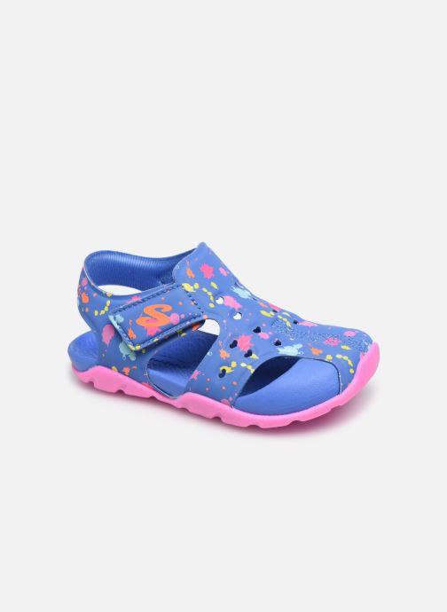 Sandales et nu-pieds Skechers Side Wave Multicolore vue détail/paire