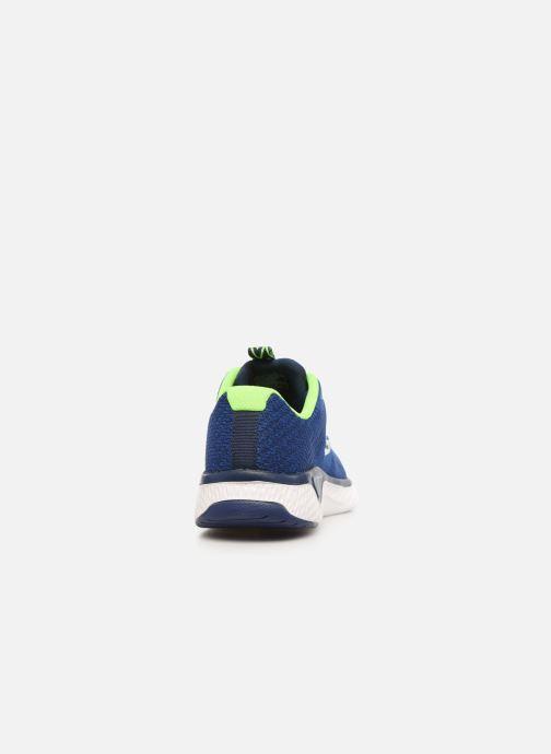 Baskets Skechers Solar Fuse Kryzik E Bleu vue droite