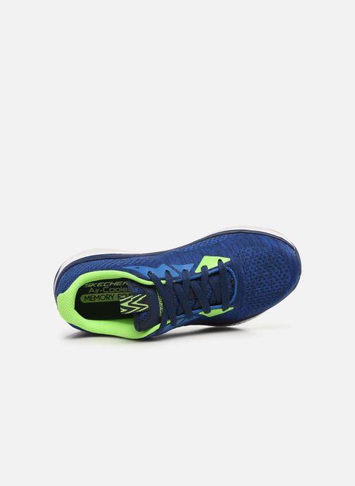 Sneakers Skechers Solar Fuse Kryzik E Blauw links