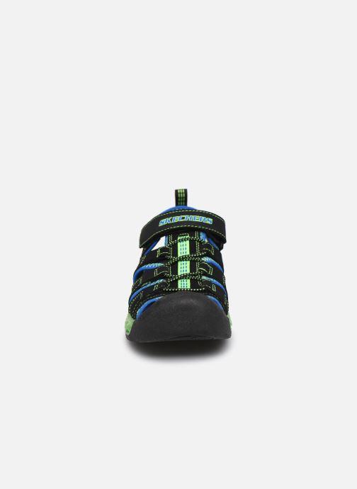 Sandalias Skechers Flex-Flow Azul vista del modelo