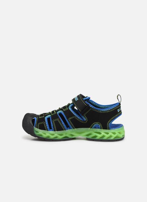 Sandalias Skechers Flex-Flow Azul vista de frente