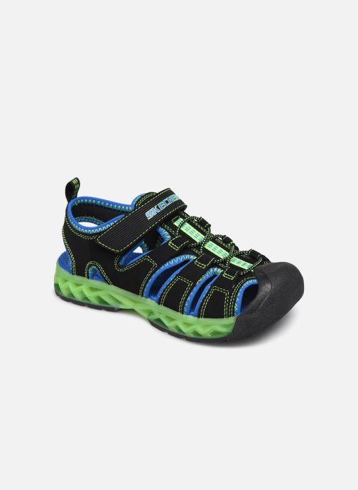 Sandalias Skechers Flex-Flow Azul vista de detalle / par