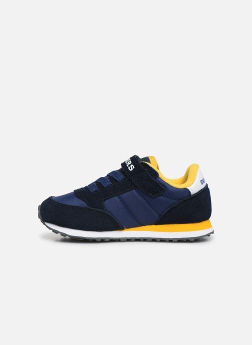 Sneakers Skechers Retro Sneaks Gorvox Azzurro immagine frontale