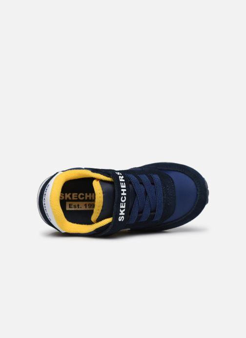 Sneakers Skechers Retro Sneaks Gorvox Azzurro immagine sinistra
