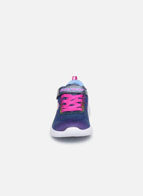 Baskets Skechers Go Run 600 Nvmt Multicolore vue portées chaussures
