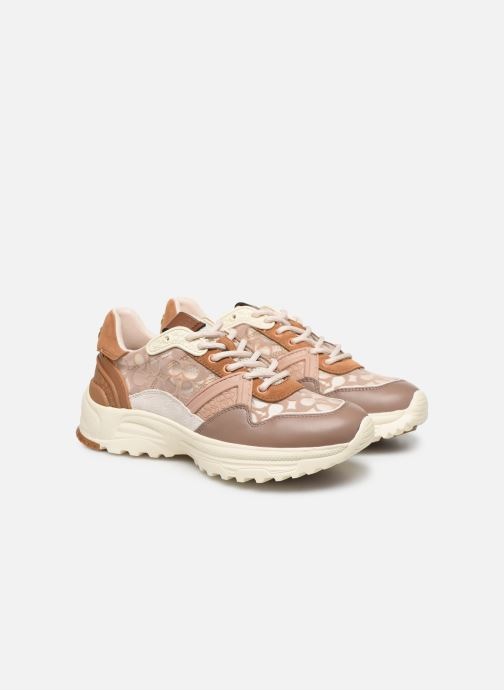 Sneakers Coach C143 Runner Rosa immagine 3/4