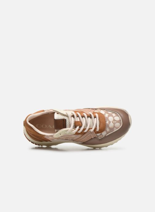 Sneakers Coach C143 Runner Rosa immagine sinistra