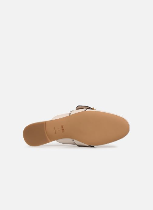 Mules & clogs Coach Sullivan Buckle Loafer Beige view from above
