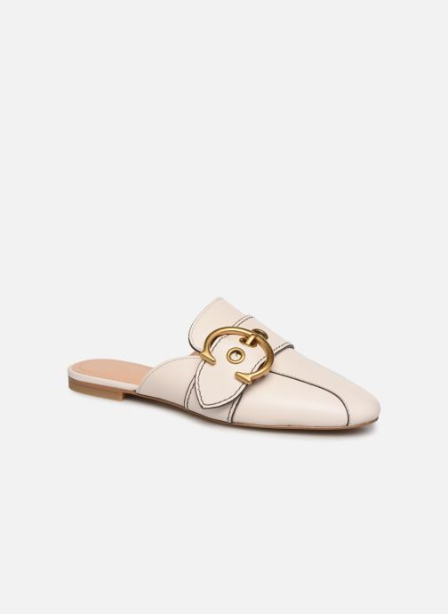 Mules & clogs Coach Sullivan Buckle Loafer Beige detailed view/ Pair view
