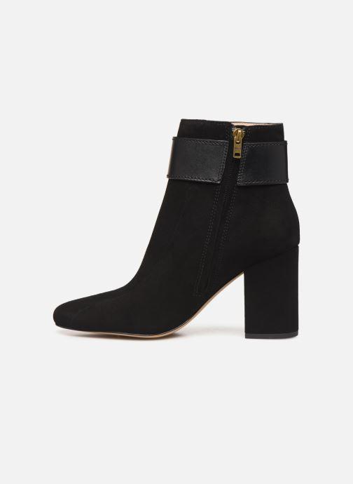 Bottines et boots Coach Dara Buckle Bootie- Suede Noir vue face