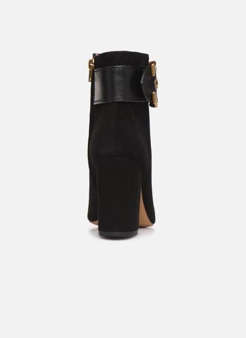 Bottines et boots Coach Dara Buckle Bootie- Suede Noir vue droite