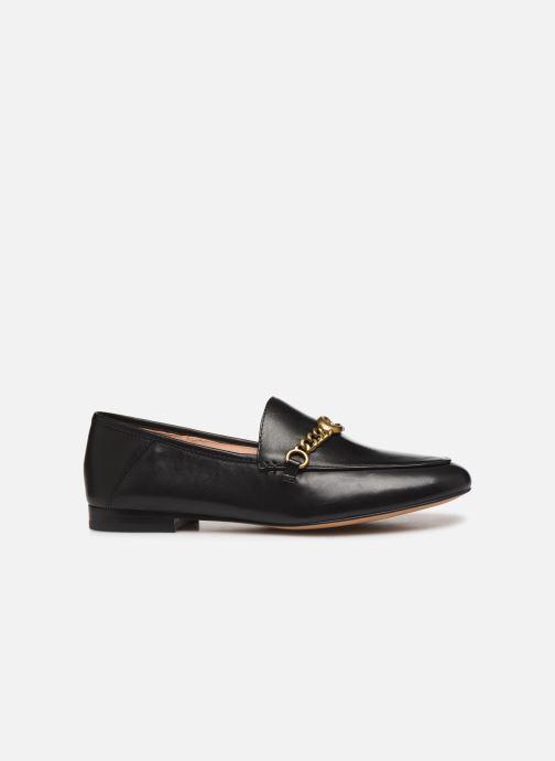 Mocassins Coach Helena Chain Loafer Noir vue derrière